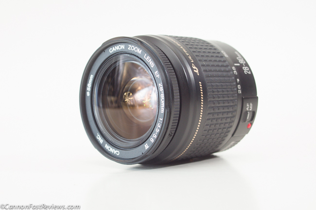 Canon 28-80mm f-3.5-5.6 IV EF USM Lens Front Element-1