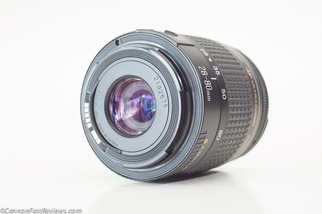 Canon 28-80mm f-3.5-5.6 IV EF USM Lens Rear Mount Plastic-1