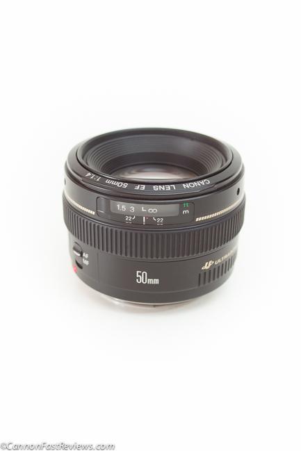 Canon EF 50mm f-1.4 USM-2