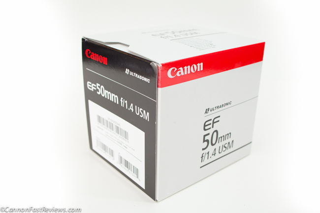 Canon EF 50mm f-1.4 USM box-1