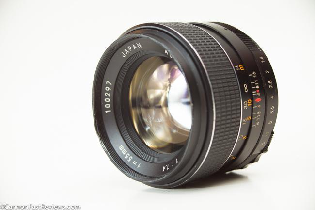 Chinon 55mm 1.4 Auto-1