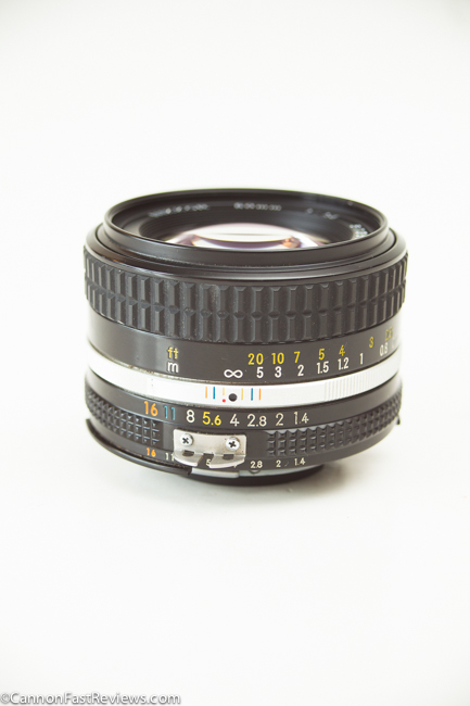 Nikon Nikkor 50mm 1.4 Ai-s-2
