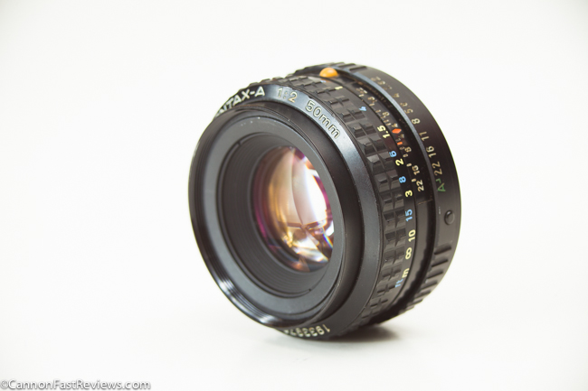 Pentax-A 50mm 2.0 SMC 0-1