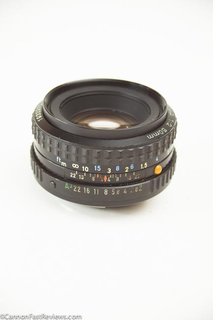 Pentax-A 50mm 2.0 SMC 0-2