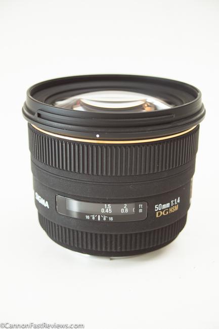 Sigma 50mm 1.4 DG HSM EX-2