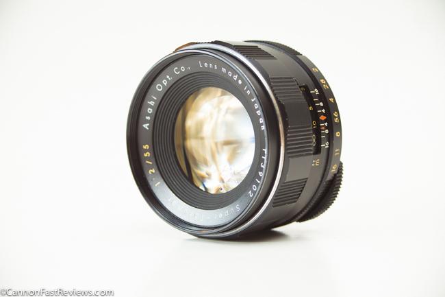 Super-Takumar 55mm 2.0 Asahi-1