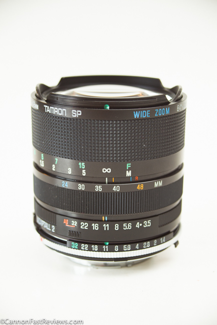 Tamron SP 24-48mm 3.5-3.8 BBAR MC Adaptall 2 Wide Zoom-2