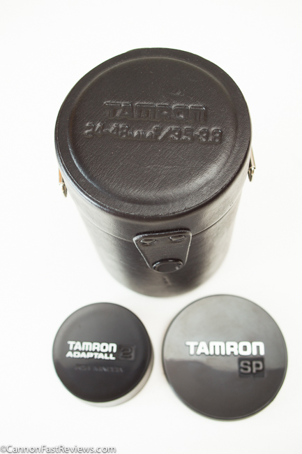 Tamron SP 24-48mm 3.5-3.8 BBAR MC Adaptall 2 Wide Zoom Case-1