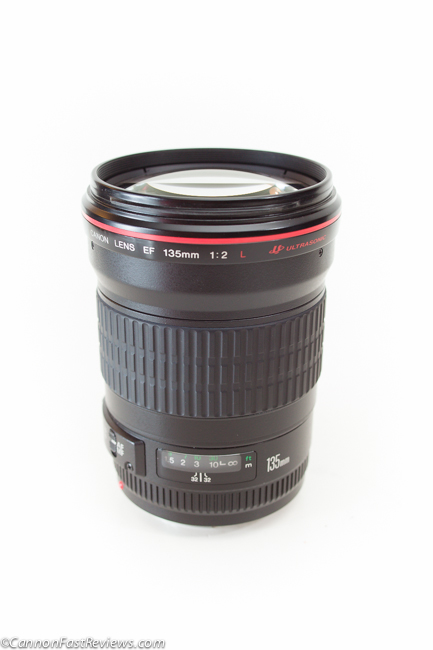 Canon EF 135mm f-2 L USM Lens-1
