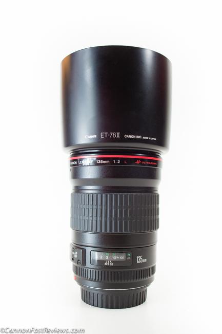 Canon EF 135mm f-2 L USM Lens Hood-2