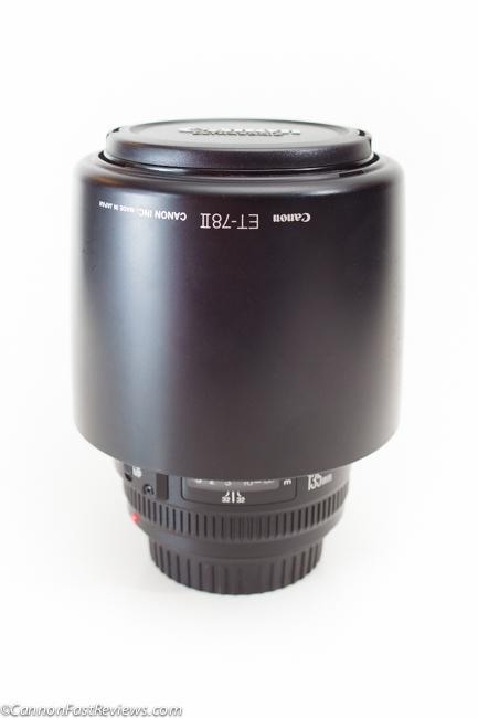 Canon EF 135mm f-2 L USM Lens Hood-3