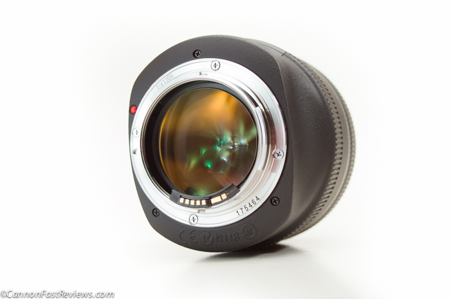 Canon EF 85mm f-1.2 L USM Rear Mount-1