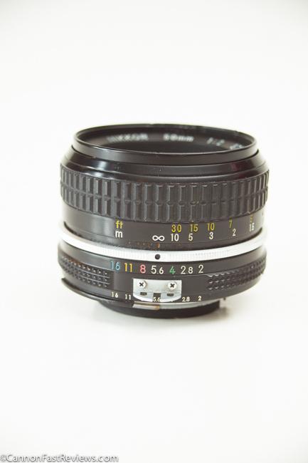 Nikon Nikkor 50mm 2.0-2