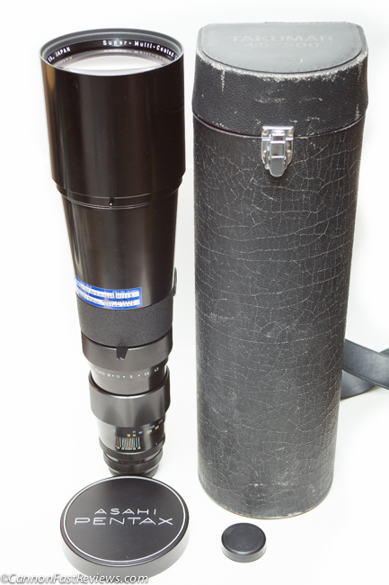 Pentax SMC Takumar 500mm f-4.5 Asahi Review Case-1