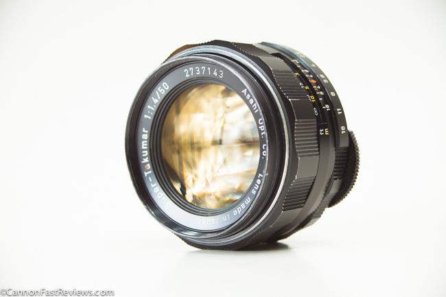 Super-Takumar 50mm 1.4 Asahi-1
