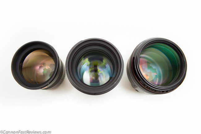 Canon 85mm f:1.2L ii EF vs Sigma 1.4 vs Rokinon 85mm f1.4 Comparison-3