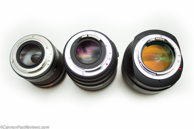 Canon 85mm f:1.2L ii EOS vs Sigma 1.4 vs Bell Howell 85mm f1.4 Mount-5