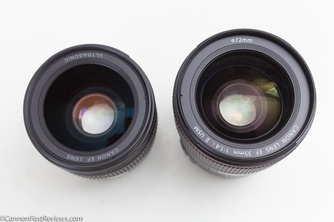 Canon 35mm 1.4 L ii BR USM EF VS Comparison 35mm 1.4 L EF USM non br review-1