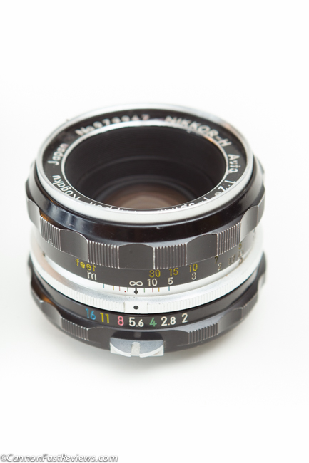 http://cannonfastreviews.com/wp-content/uploads/2013/10/Nikon-H-50mm-f-2-Auto-Review-Close-Focus-1.jpg