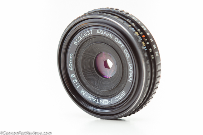 Pentax 40mm f-2.8 SMC Review Front Element Filter-1