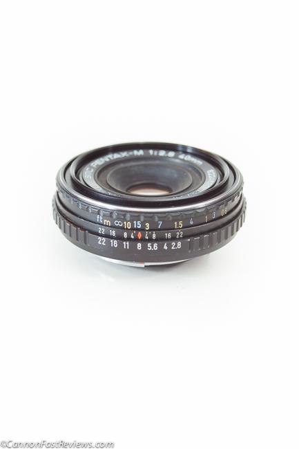 Pentax M K 40mm f-2.8 SMC Asahi Lens-1