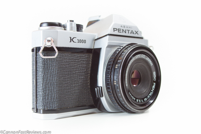 Pentax M K 40mm f-2.8 SMC Asahi Lens best K1000 Body Size-1