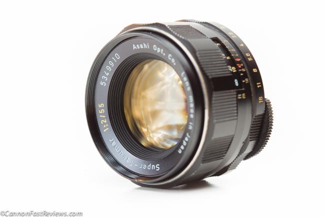 http://cannonfastreviews.com/wp-content/uploads/2013/10/Pentax-Super-Takumar-55mm-f-2-37107-Review-Front-Element-Filter-1.jpg